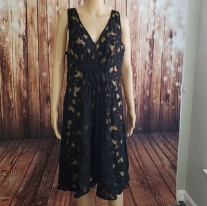 Max Studio Dress XL Black